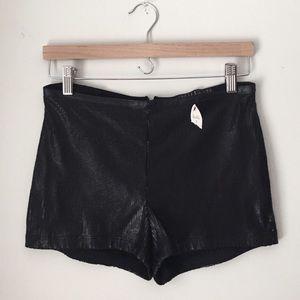 Potters Pot Black Beaded Dress Shorts